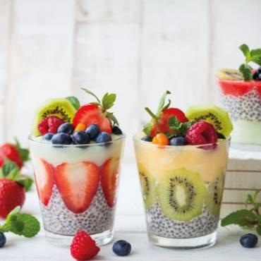 Yogur Parfait con Chía