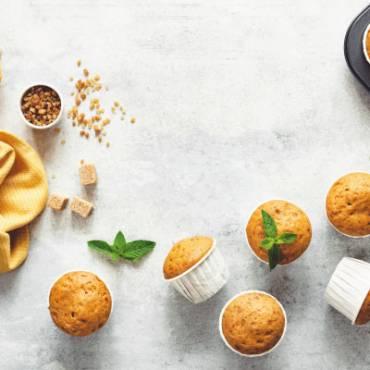 Muffins de Vita Yogur de Mora y Coco