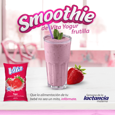 Smoothie de Vita Yogur Frutilla