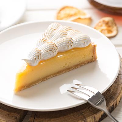 Pie de limón sin lactosa